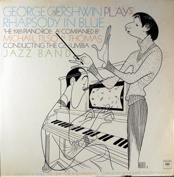 GEORGE GERSHWIN - Rhapsody in Blue (feat. conductor: Michael Tilson Thomas) cover