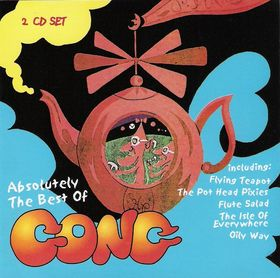 GONG - Absolutely the Best of Gong (2 CD Set) cover
