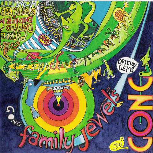 GONG - Family Jewels cover