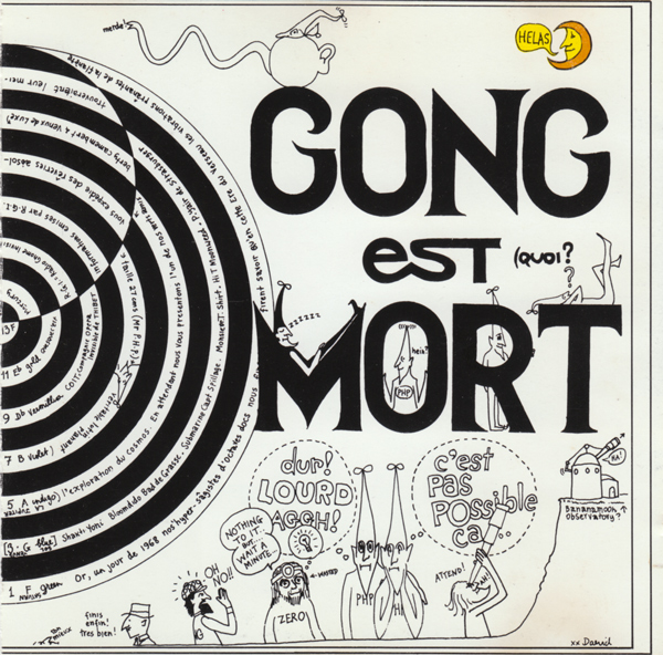 GONG - Gong est Mort...Vive Gong cover