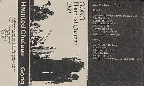 GONG - Haunted Chateau cover