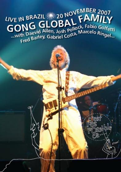 GONG - Live In Brazil: 20th November 2007 cover