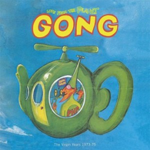 GONG - Love from the Planet Gong : The Virgin Years 1973-1975 cover