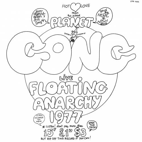 GONG - Planet Gong: Live Floating Anarchy 1977 cover