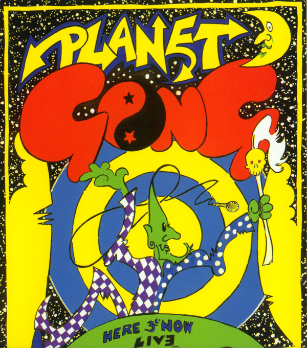 GONG - Planet Gong: Live Floating Anarchy 1991 cover
