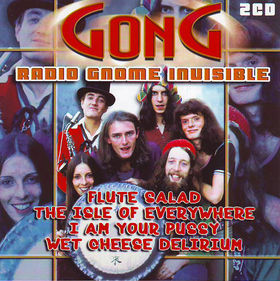 GONG - Radio Gnome Invisible cover