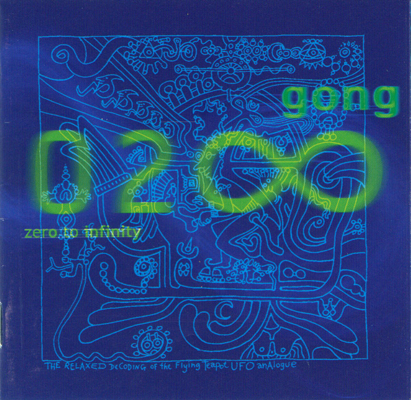 GONG - Zero to Infinity cover