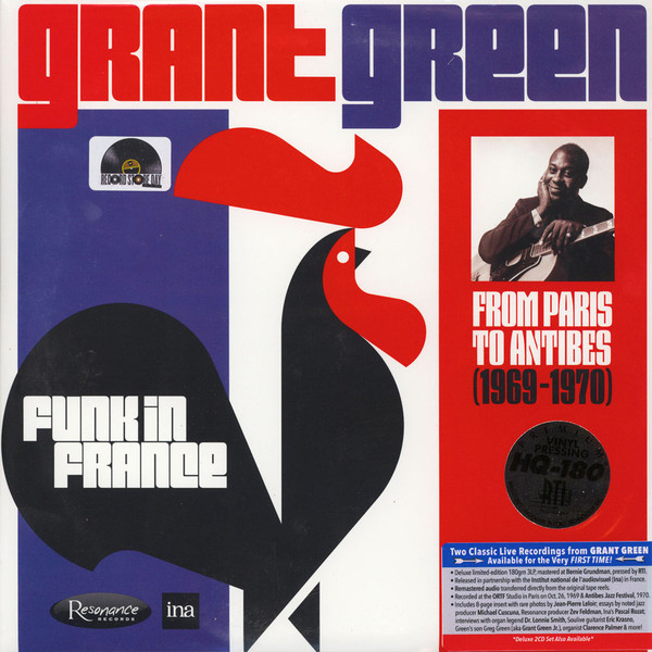 GRANT GREEN - Funk In France: From Paris to Antibes 1969-1970 cover