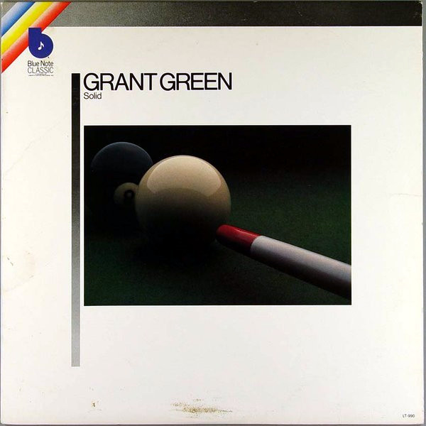GRANT GREEN - Solid cover