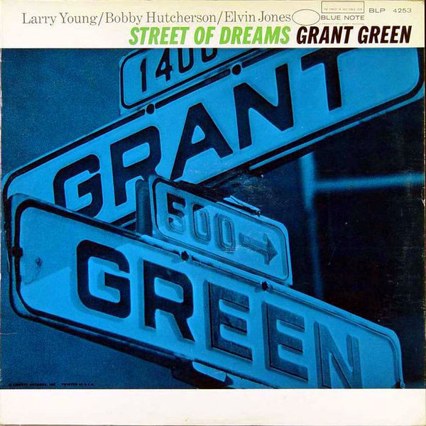 GRANT GREEN - Street of Dreams cover