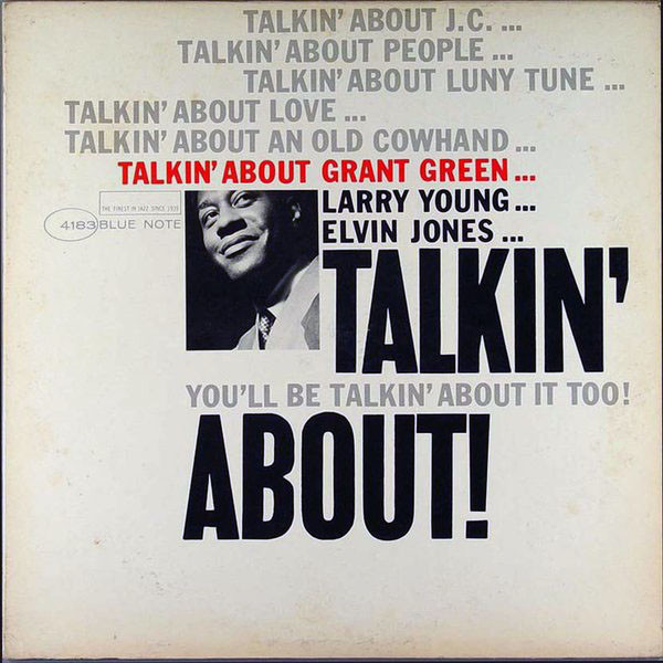 GRANT GREEN - Talkin' About cover