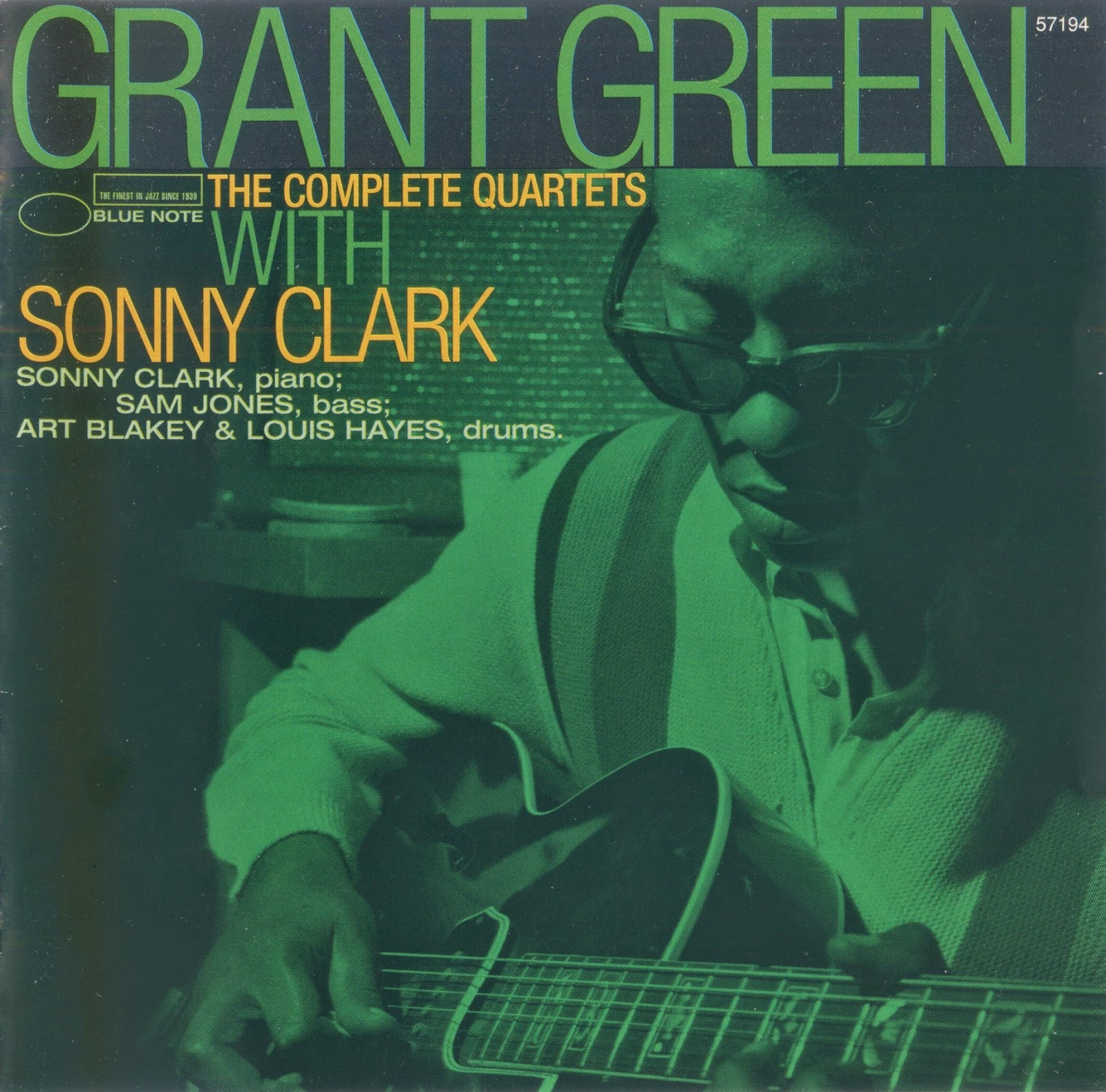 GRANT GREEN - The Complete Quartets With Sonny Clark cover