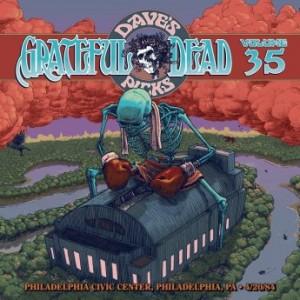 GRATEFUL DEAD - Dave's Picks Volume 35: Philadelphia Civic Center, Philadelphia, PA 4/20/84 cover