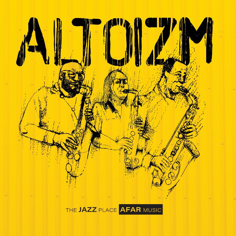 GREG WARD - Greg Ward, Sharel Cassity, & Rajiv Halim : ALTOIZM cover