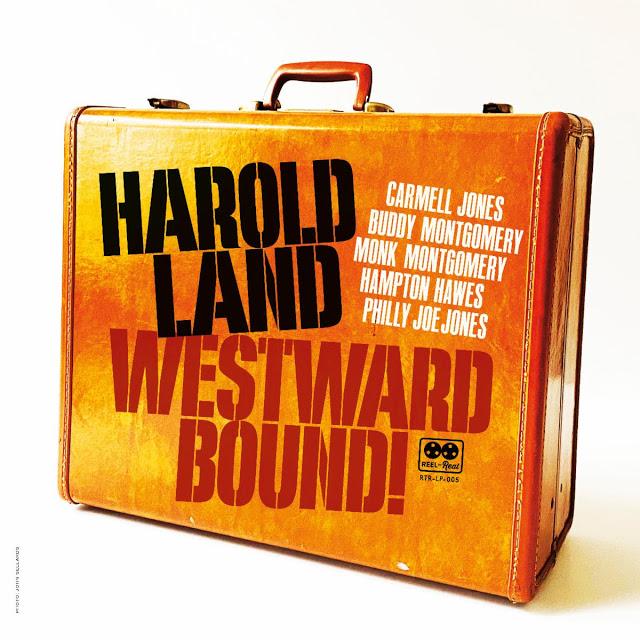 HAROLD LAND - Westward Bound! cover