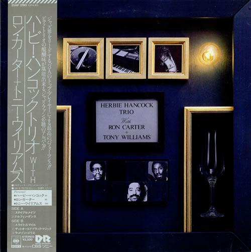 HERBIE HANCOCK - Herbie Hancock Trio (With Ron Carter + Tony Williams) cover