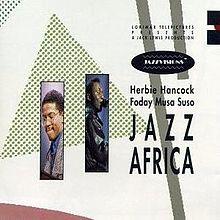 HERBIE HANCOCK - Jazz Africa cover