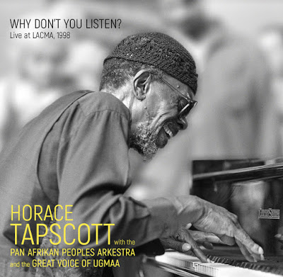 HORACE TAPSCOTT - Why Dont You Listen? - Live at LACMA, 1998 cover