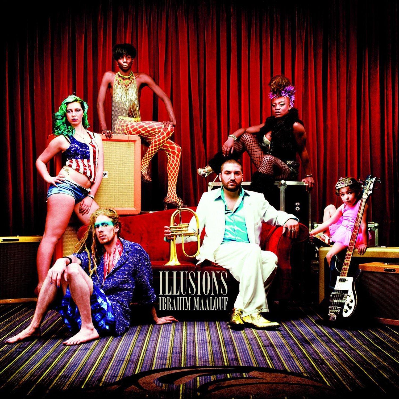 IBRAHIM MAALOUF - Illusions cover