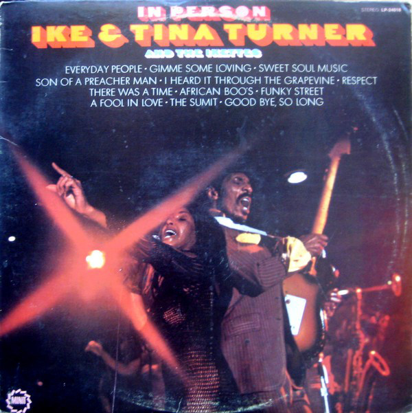 IKE AND TINA TURNER - In Person cover