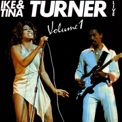IKE AND TINA TURNER - Live Volume 1 cover