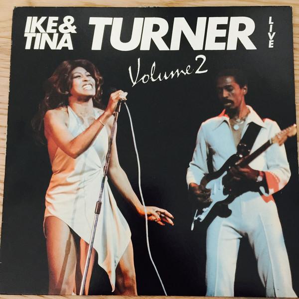 IKE AND TINA TURNER - Live Volume 2 cover