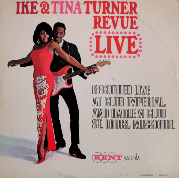IKE AND TINA TURNER - Revue Live cover