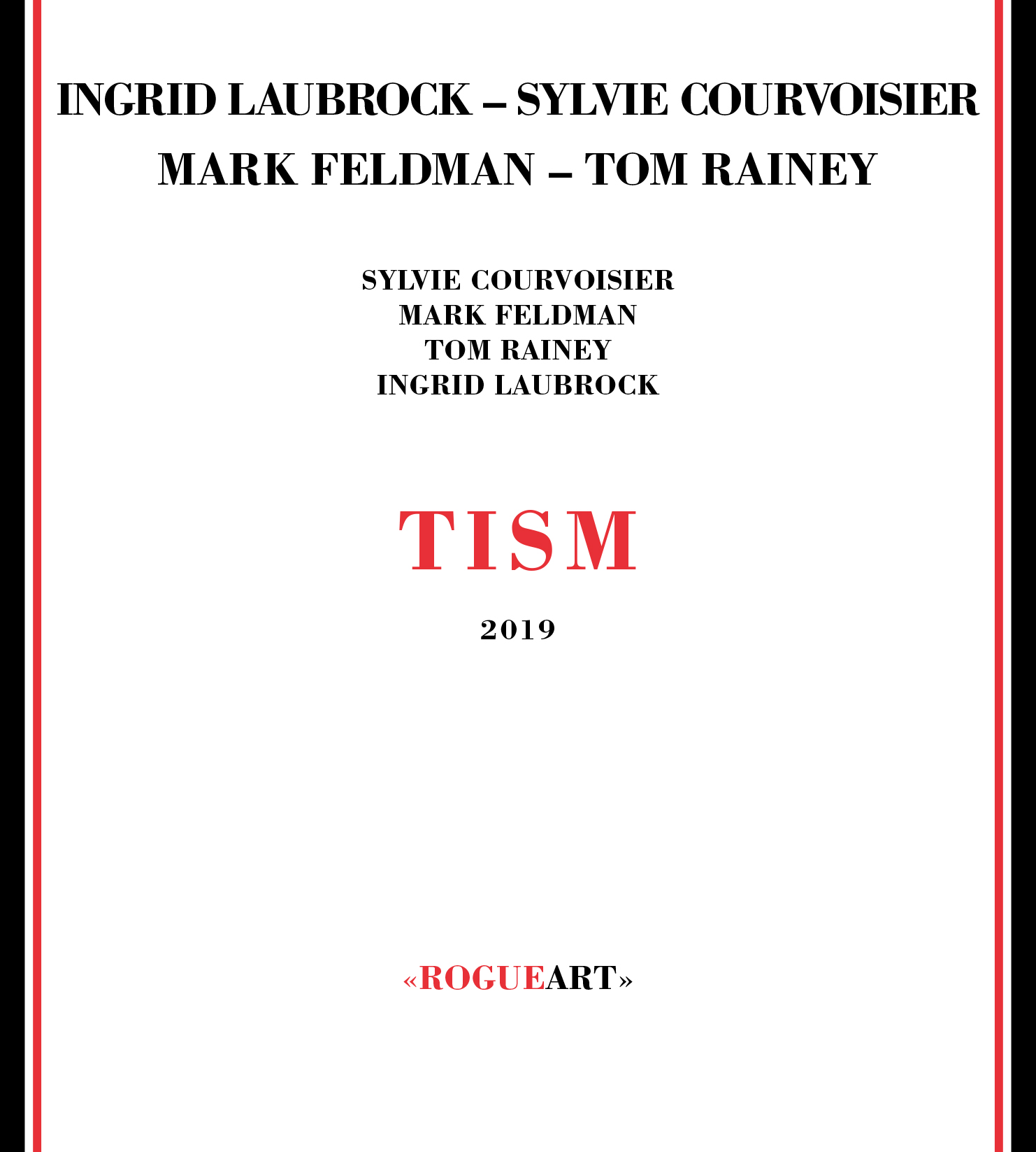 INGRID LAUBROCK - Tism cover