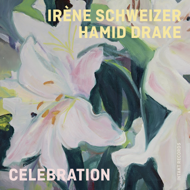 IRÈNE SCHWEIZER - Irène Schweizer / Hamid Drake : Celebration cover