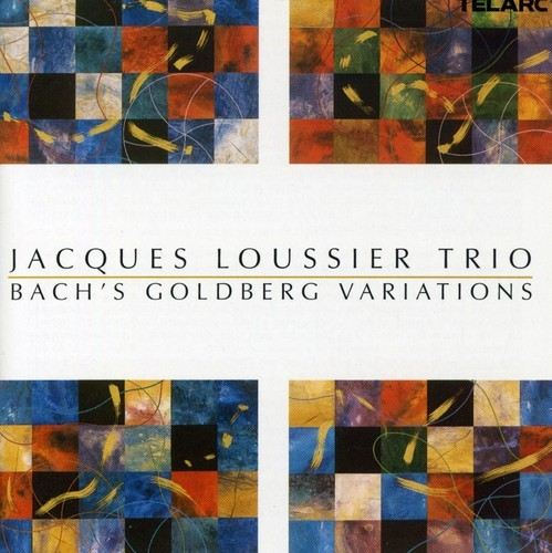 JACQUES LOUSSIER - Bach: Goldberg Variations cover