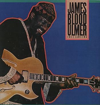 JAMES BLOOD ULMER - Free Lancing cover