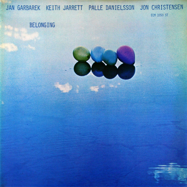 JAN GARBAREK - Belonging (with Keith Jarrett, Palle Danielsson, Jon Christensen) cover