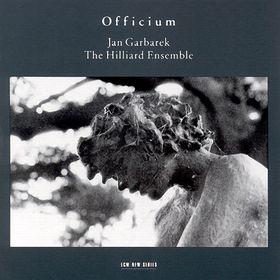 JAN GARBAREK - Officium (with The Hilliard Ensemble) cover