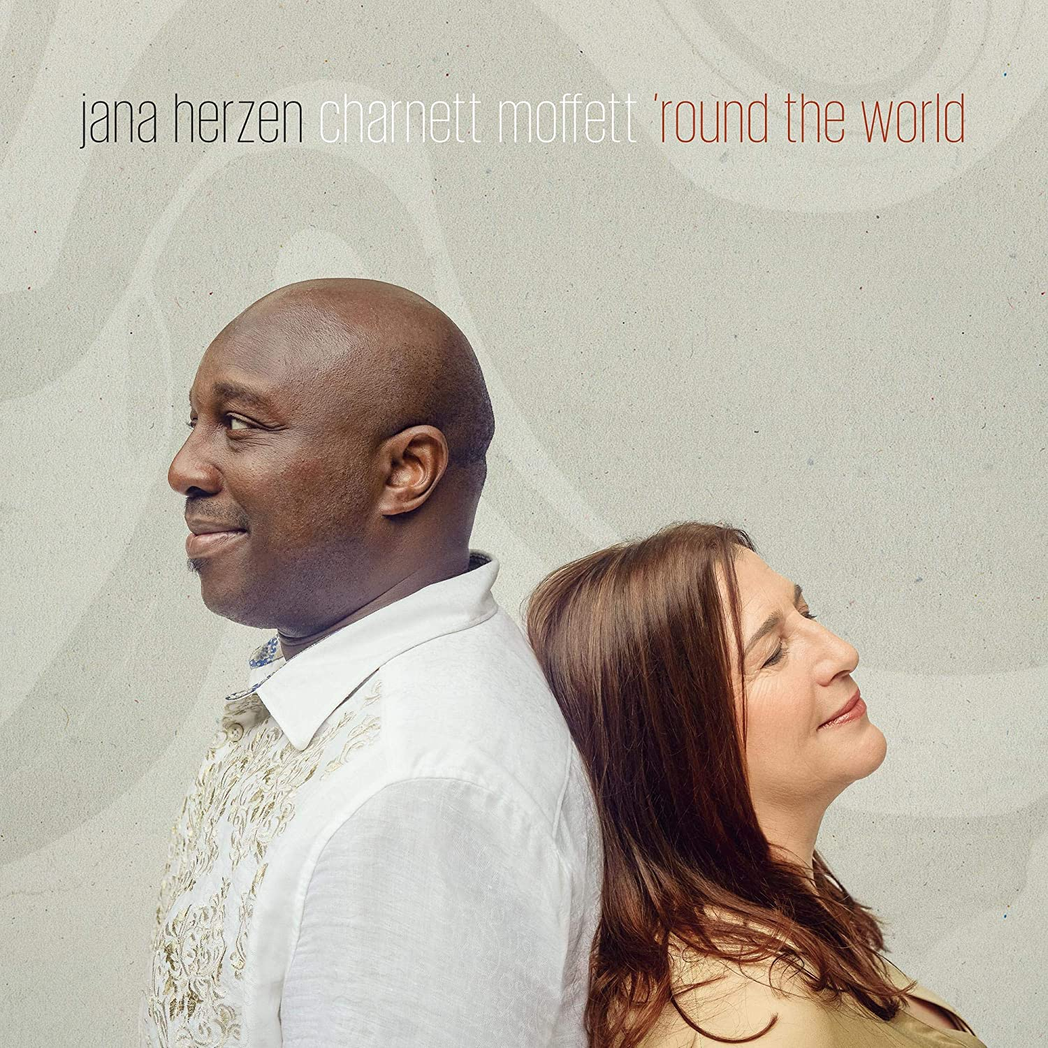 JANA HERZEN - Jana Herzen, Charnett Moffett : Round the World cover