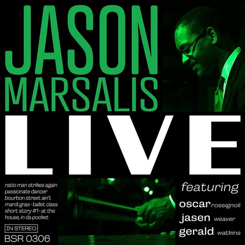 JASON MARSALIS - Live cover