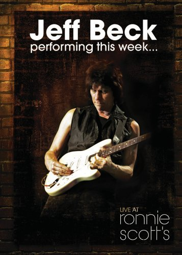 JEFF BECK - Performing This Week...Live At Ronnie Scott's cover