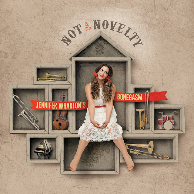 JENNIFER WHARTON - Jennifer Whartons Bonegasm : Not a Novelty cover