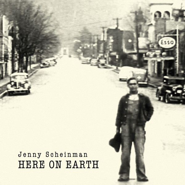 JENNY SCHEINMAN - Here on Earth cover