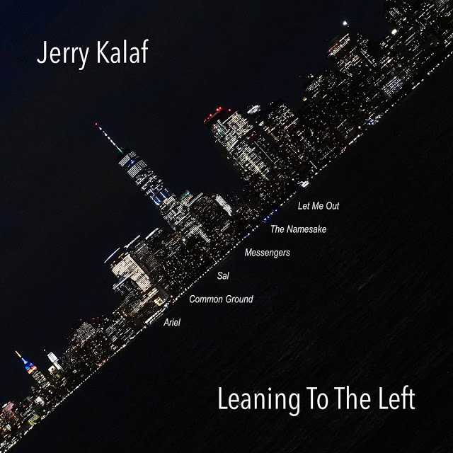 JERRY KALAF - Leaning To The Left cover