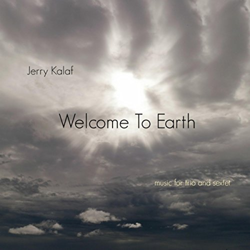 JERRY KALAF - Welcome to Earth cover