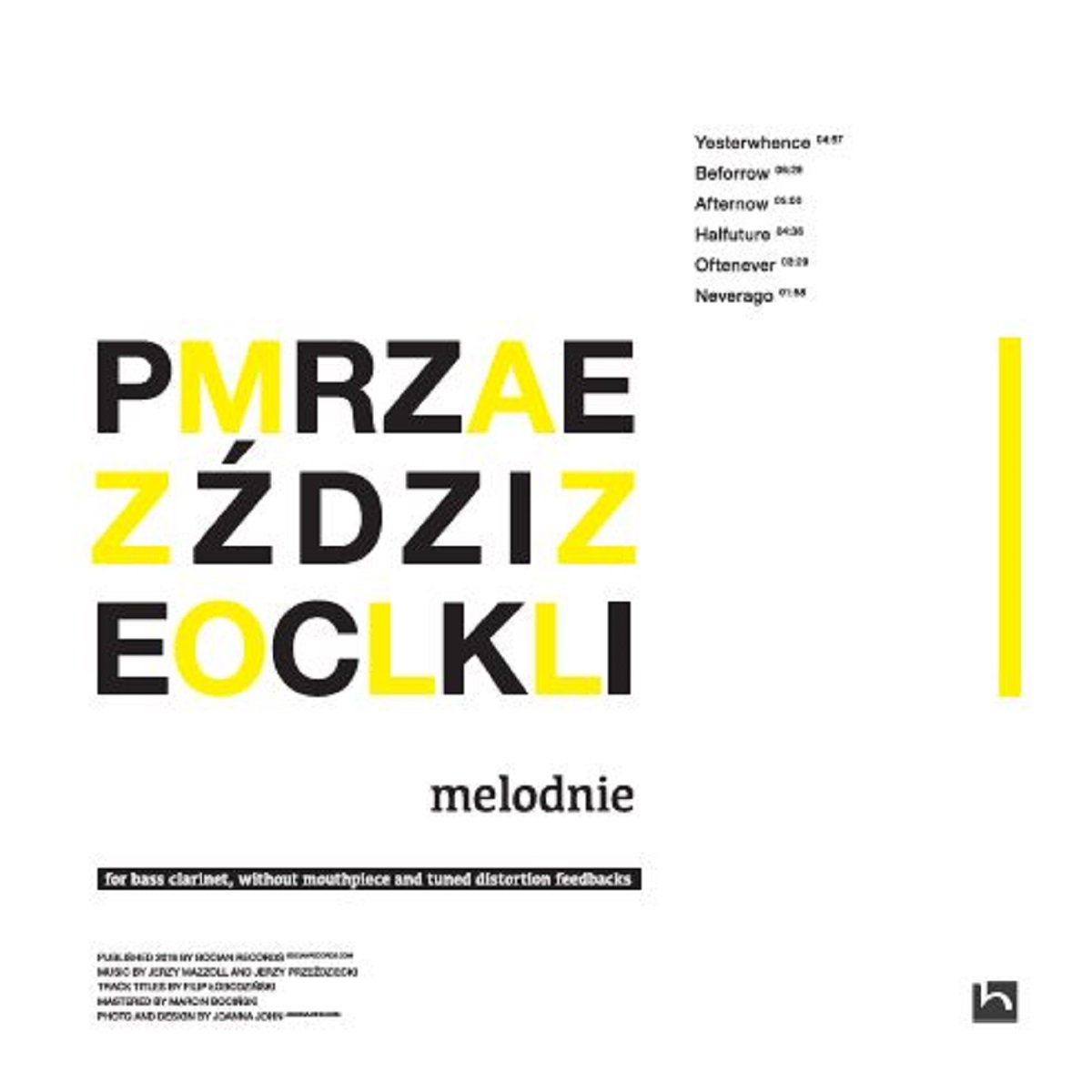 JERZY MAZZOLL - Jerzy Mazzoll and Jerzy Przeździecki : melodnie cover