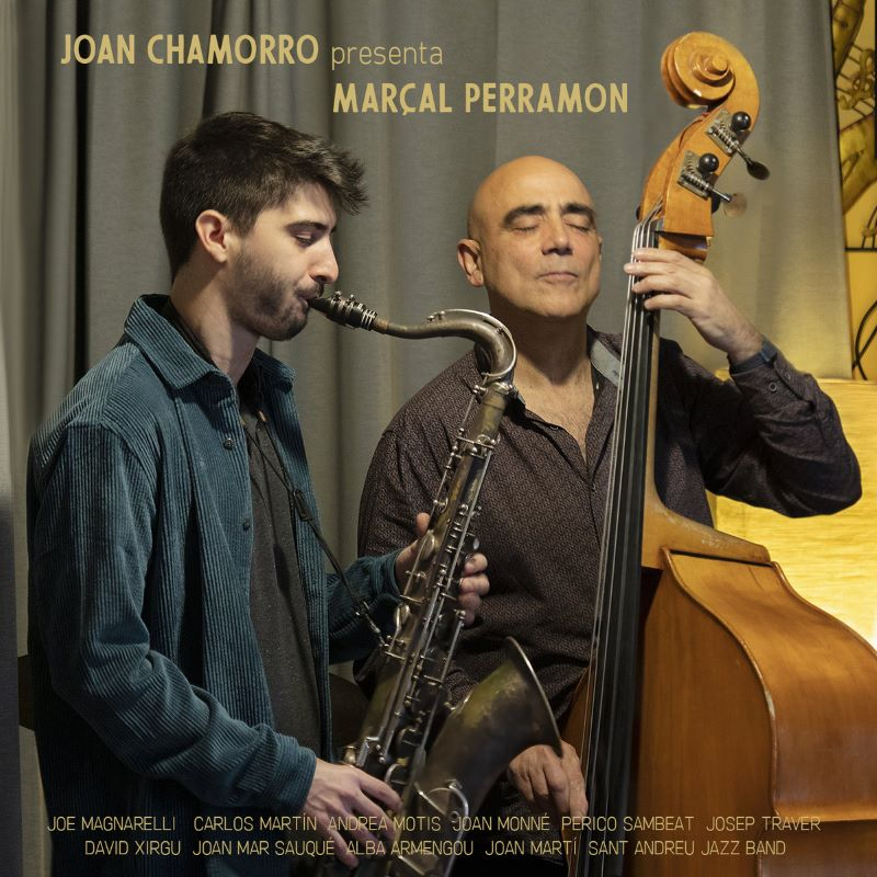 JOAN CHAMORRO - Joan Chamorro presenta Marçal Perramon cover