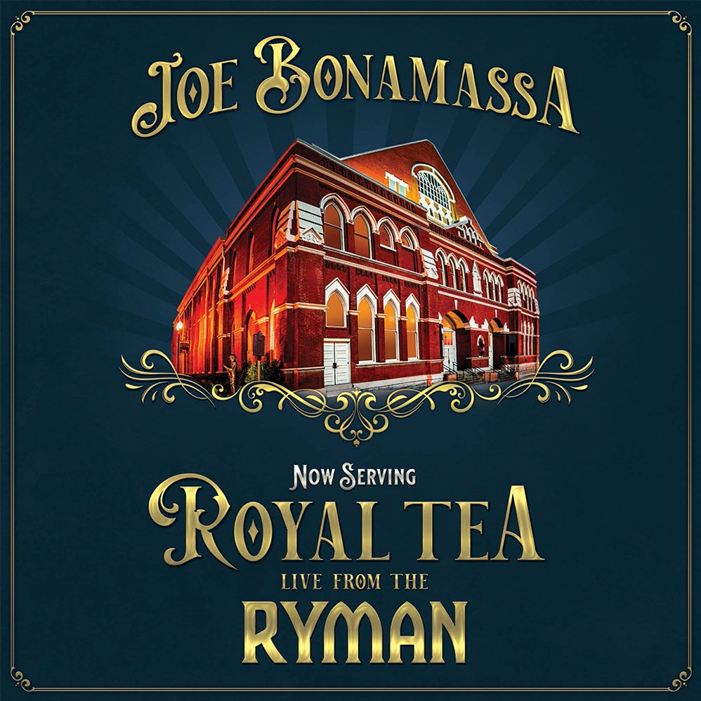 JOE BONAMASSA - Now Serving: Royal Tea Live From The Ryman cover