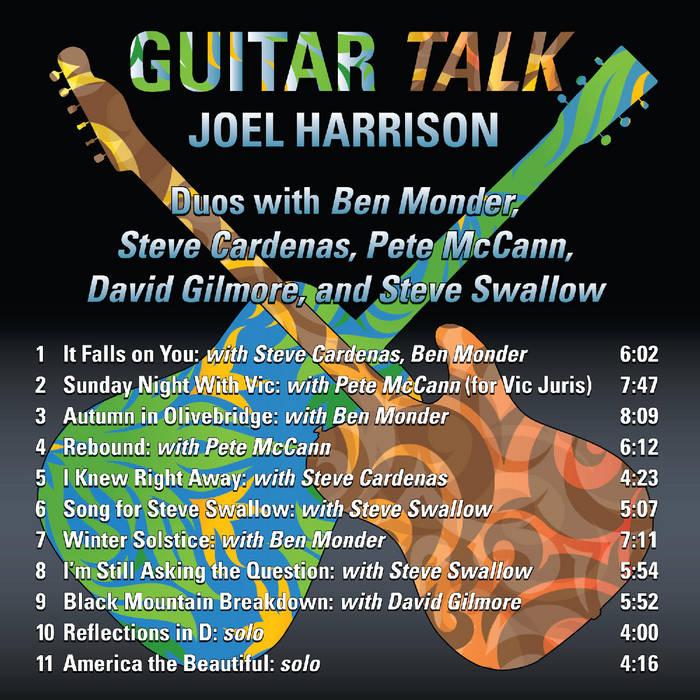 JOEL HARRISON - Guitar Talk cover