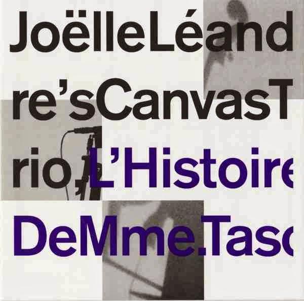 JOËLLE LÉANDRE - L'Histoire De Mme. Tasco cover