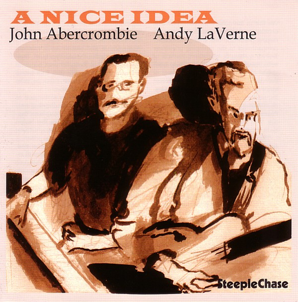 JOHN ABERCROMBIE - A Nice Idea (with Andy LaVerne) cover