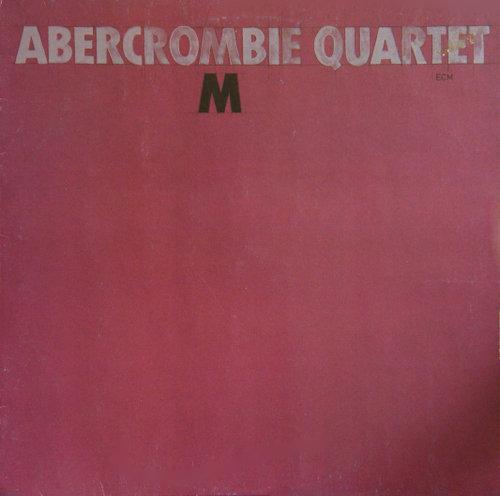 JOHN ABERCROMBIE - M cover