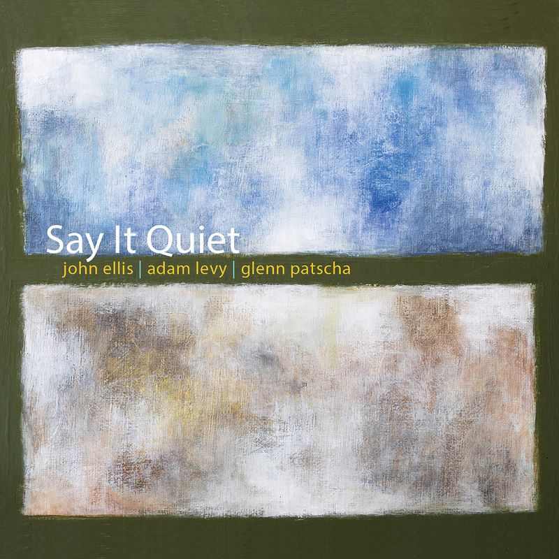 JOHN ELLIS (SAXOPHONE) - John Ellis / Adam Levy / Glenn Patscha : Say It Quiet cover
