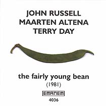 JOHN RUSSELL - John Russell, Maarten Altena & Terry Day : The Fairly Young Bean cover