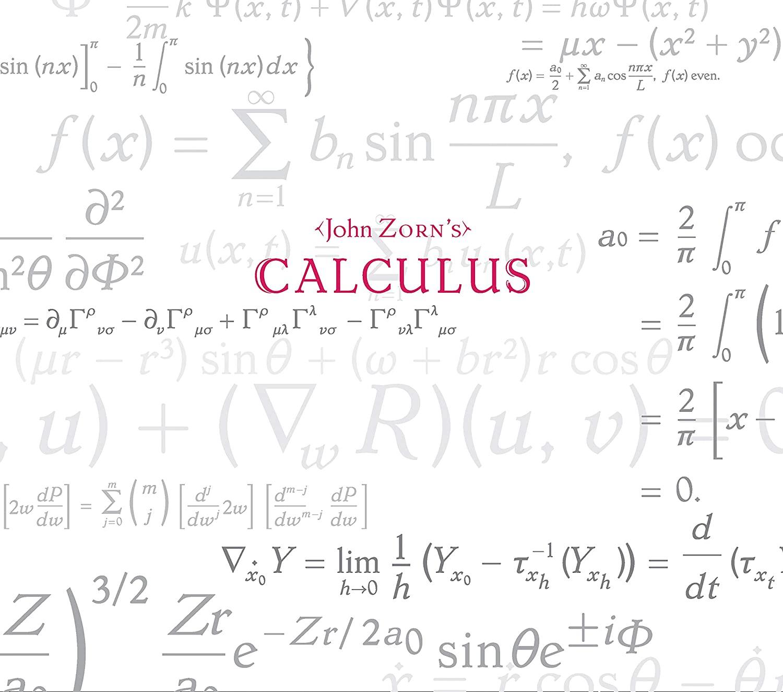 JOHN ZORN - Calculus cover
